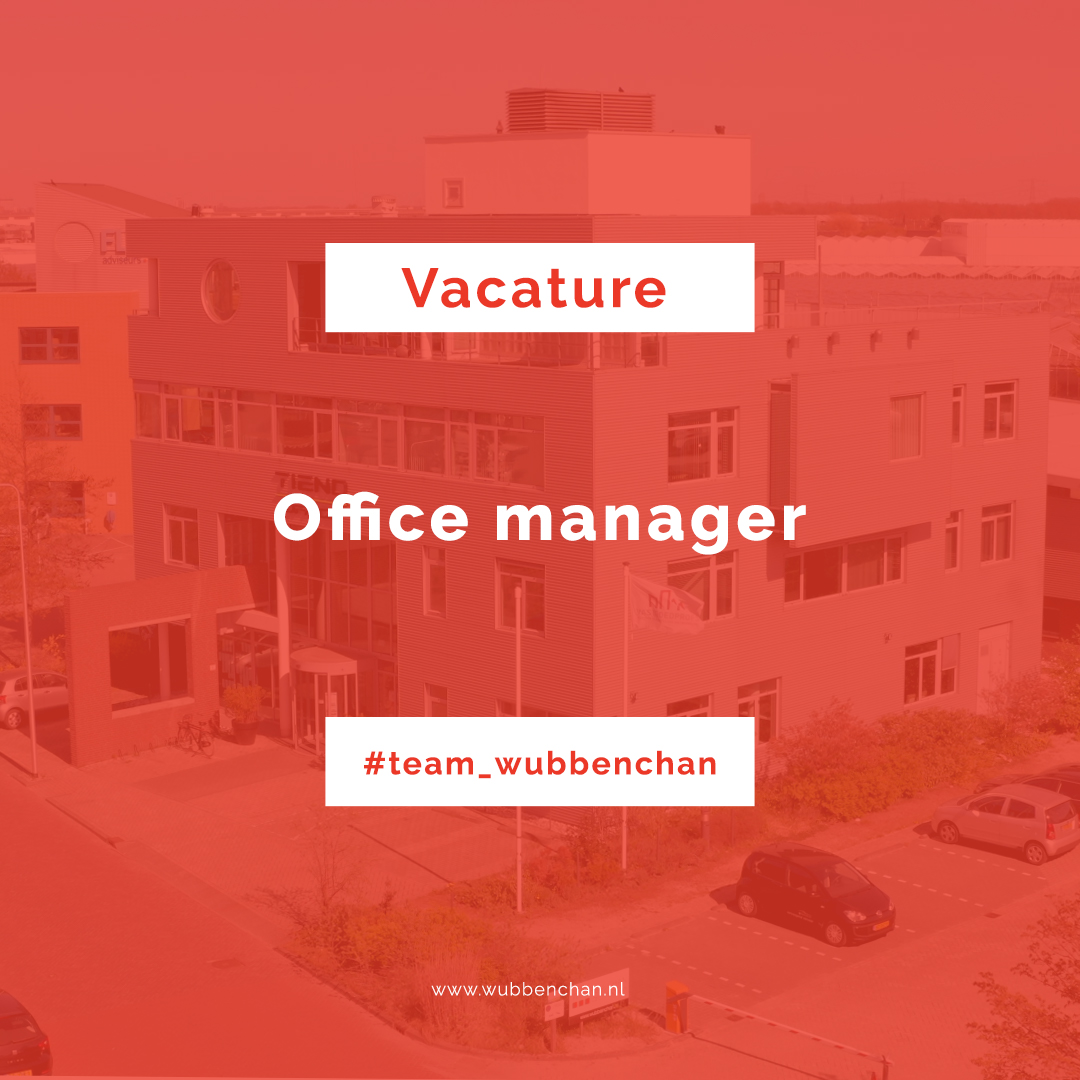 Wubben.Chan Vacature office manager