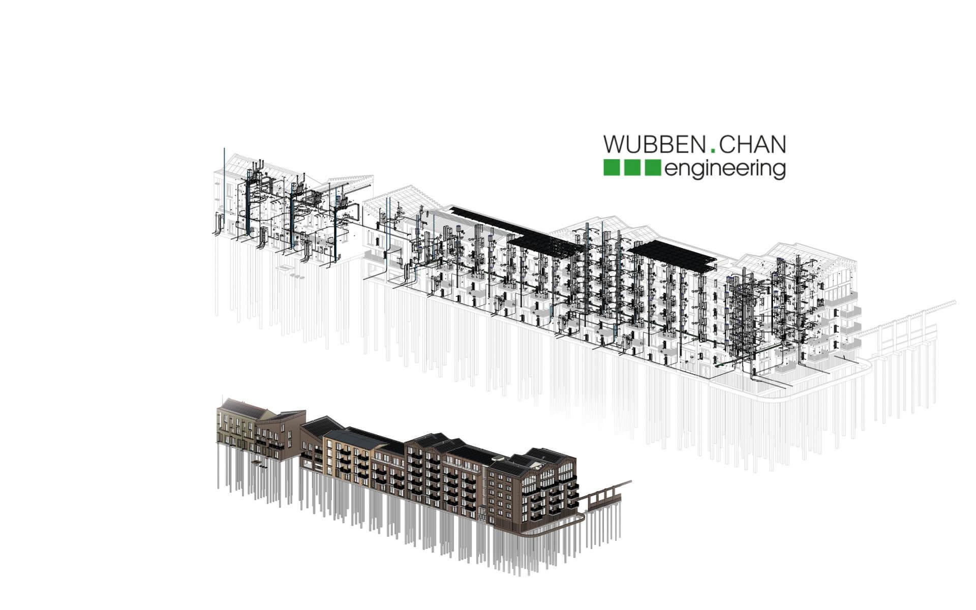 Wubben.Chan Architecten diensten bouwkundige uitwrking BIM engineering