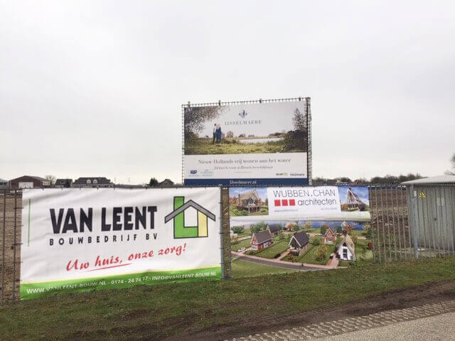 Bouwdoek project IJsselmaere Wubben.Chan Architecten