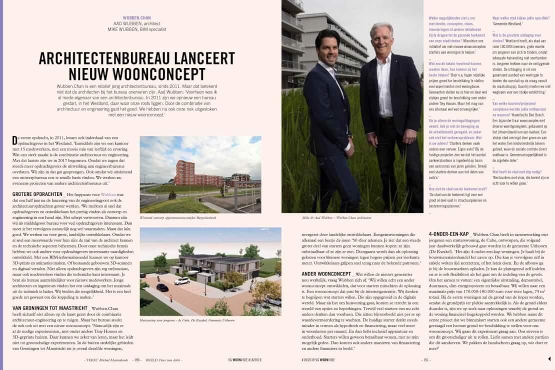 Artikel VGVisie nieuw concept Wubben.Chan Architecten