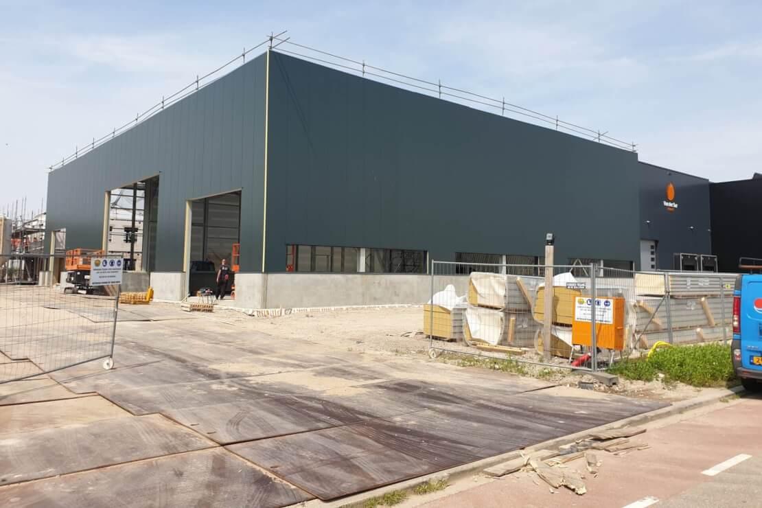 A Vordering nieuwbouw Van der Mark Ketelhoud Wubben.Chan Architecten