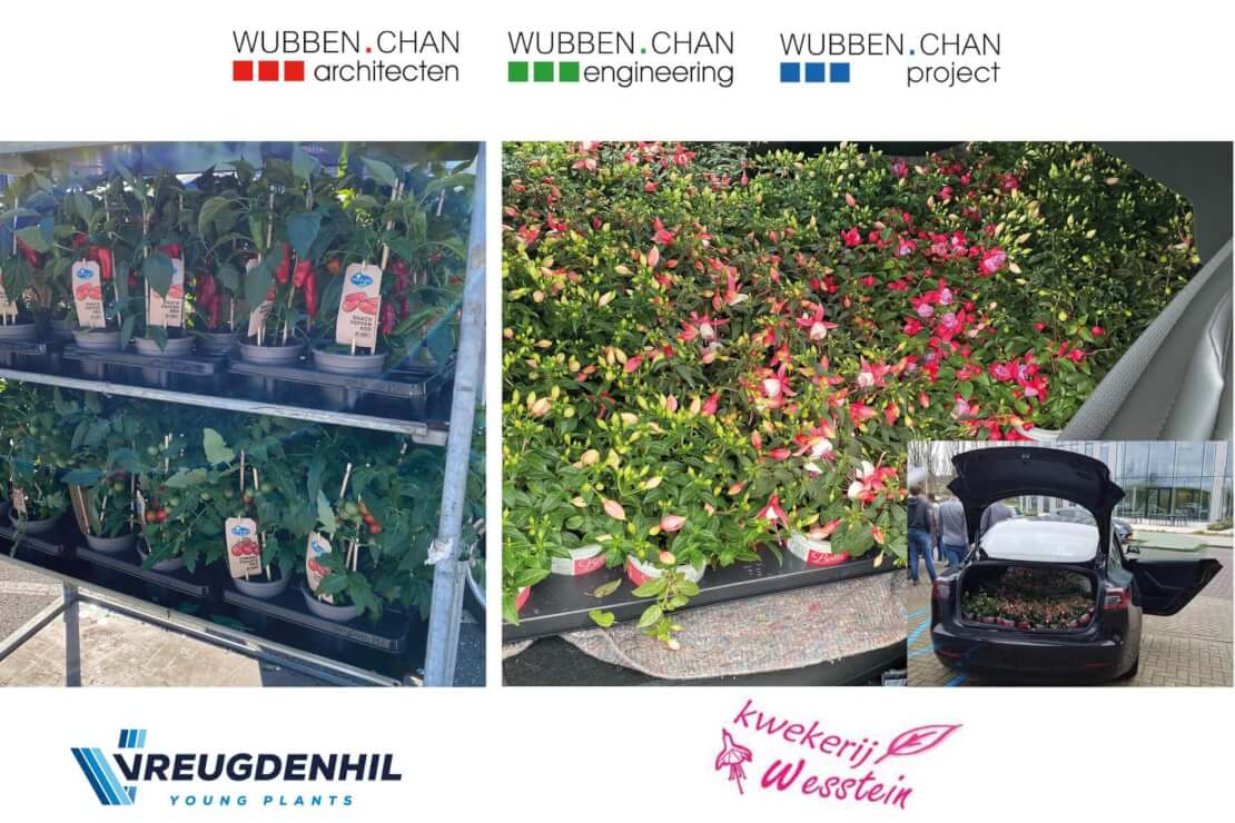 A Uitdaging Flowerboostchallenge Wubben.Chan architecten