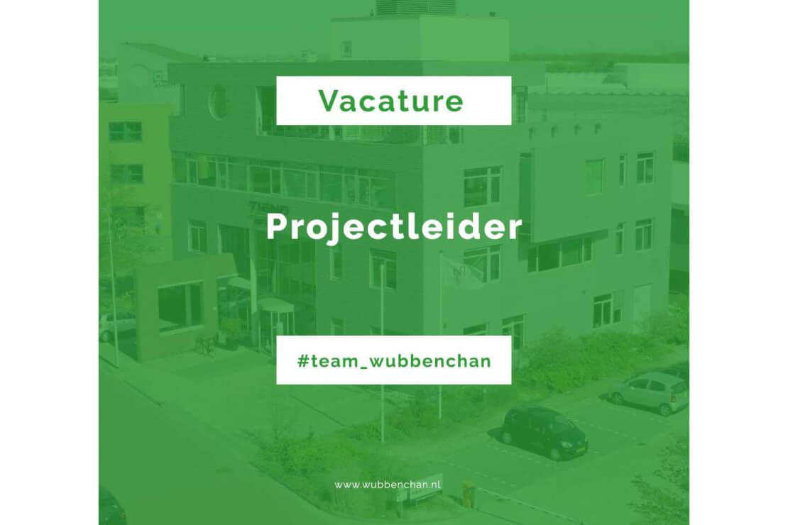 Vacature projectleider Wubben.Chan engineering