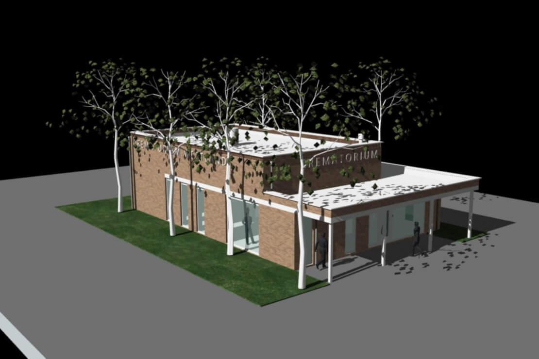 1 Crematorium Naaldwijk Wubben.Chan Architecten