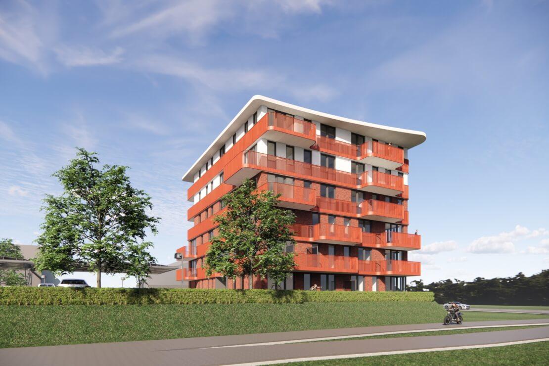 A Parkzoom gewonnen aanbesteding appartementencomplex Wubben.Chan architecten
