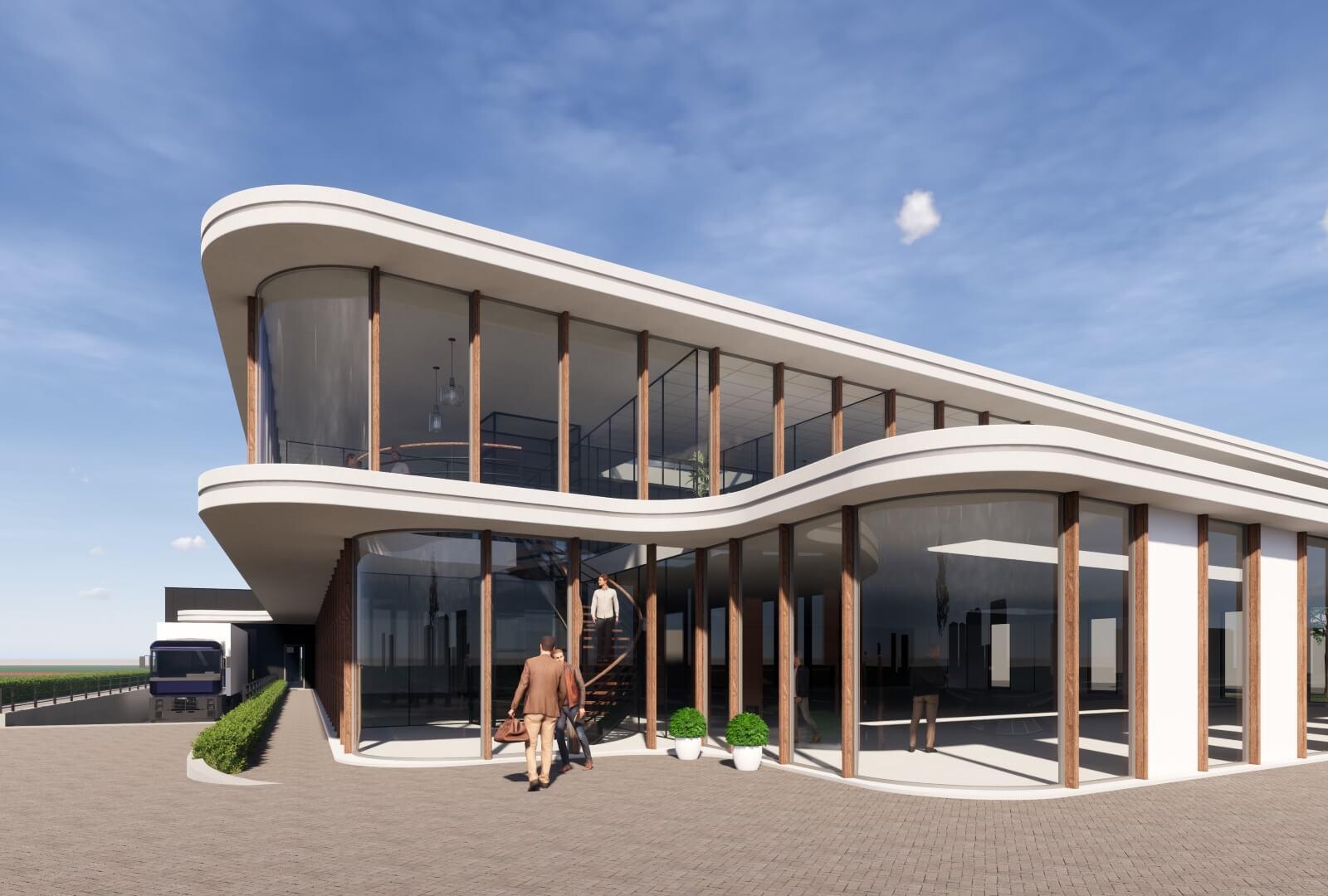 HHH bedrijfshuisvesting Zuid Holland Wubben.Chan Architecten Large