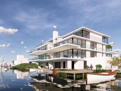 1 Verlengde Poelkade appartementen Rietkraag WubbenChan Architecten