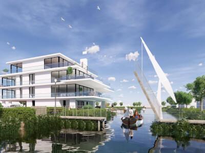 2 Verlengde Poelkade appartementen Rietkraag WubbenChan Architecten
