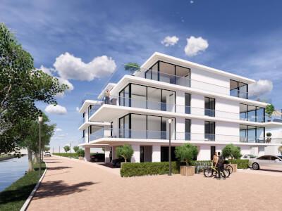 3 Verlengde Poelkade appartementen Rietkraag WubbenChan Architecten
