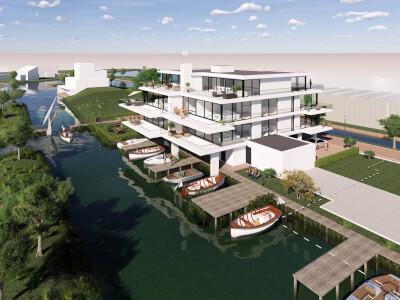 4 Verlengde Poelkade appartementen Rietkraag WubbenChan Architecten