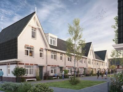 D Project Buyten Poeldijk de kreken 53 EGZ woningen Wubben.Chan architecten