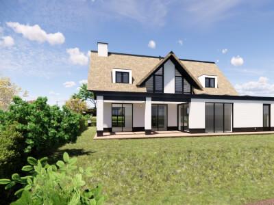 B Vrijstaande villa woning IJsselmaere Wubben.Chan architecten Large