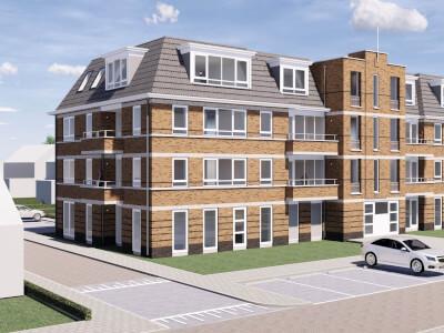 B Hendrik van Naaldwijkstraat Naaldwijk blok A Wubben.Chan Architecten