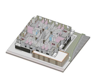F Appartementencomplex Rijnvaart s Gravenzande Wubben.Chan engineering