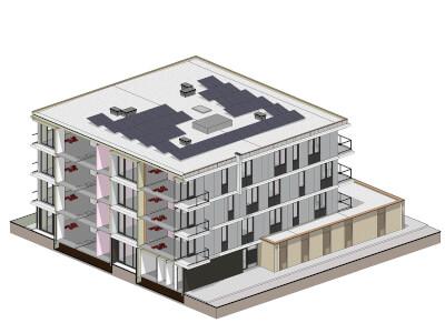 J Appartementencomplex Rijnvaart s Gravenzande Wubben.Chan engineering