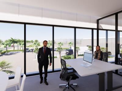 F Kassencomplex met bedrijfsruimte Wubben.Chan architecten