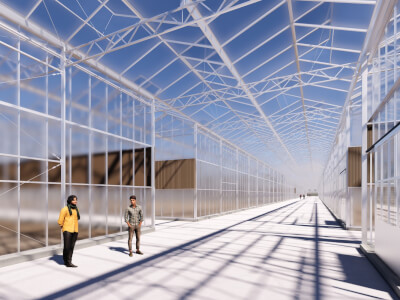 H Kassencomplex met bedrijfsruimte Wubben.Chan architecten