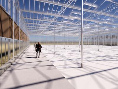 N Kassencomplex met bedrijfsruimte Wubben.Chan architecten