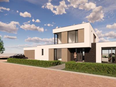 A Vrijstaande woning ontwerp Wubben.Chan architecten Large