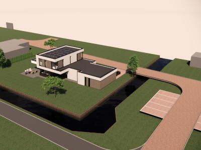 F Vrijstaande woning ontwerp Wubben.Chan architecten Large