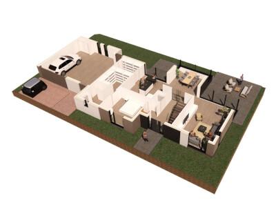I Vrijstaande woning ontwerp Wubben.Chan architecten Large
