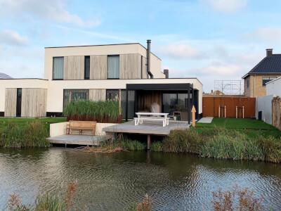 H Gantel de Baak kavel 9 Kleine achterweg 17a Naalwijk Wubben.Chan Architec