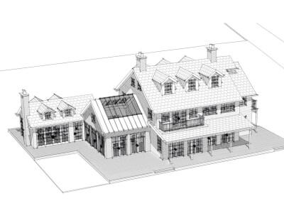 Woning amerikaanse landhuisstijl Wubben.Chan Architecten 4