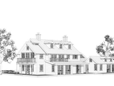 Woning amerikaanse landhuisstijl Wubben.Chan Architecten 6