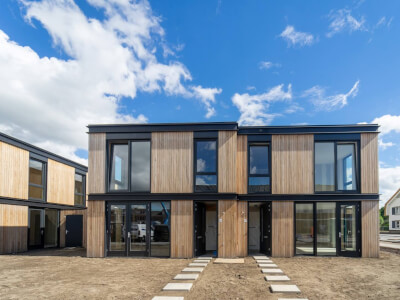 C Cube House starterswoningen Wubben.Chan architecten