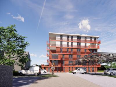 C Parkzoom gewonnen aanbesteding appartementencomplex Wubben.Chan architecten