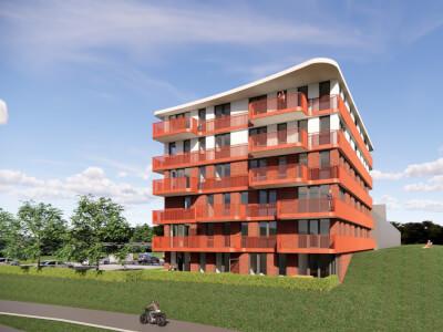 E Parkzoom gewonnen aanbesteding appartementencomplex Wubben.Chan architecten