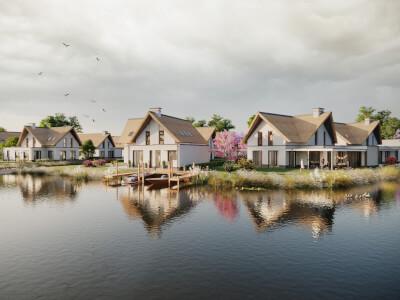 A Poelmolenweg Wonen aan de Rietpoel Wubben.Chan architecten