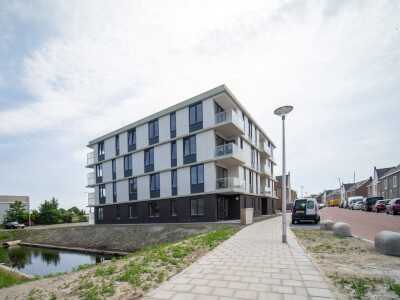 D Appartementencomplex Rijnvaart s Gravenzande Wubben.Chan architecten Large