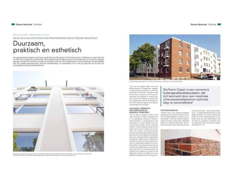 Artikel magazine Stedenbouw Wubben.Chan Engineering