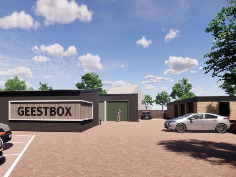A Geestbox te Naaldwijk Wubben.Chan architecten
