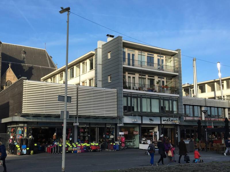 A Grote Kerkplein Rotterdam Wubben.Chan Architecten