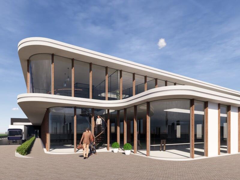 A bedrijfshuisvesting Zuid Holland Wubben.Chan Architecten Large