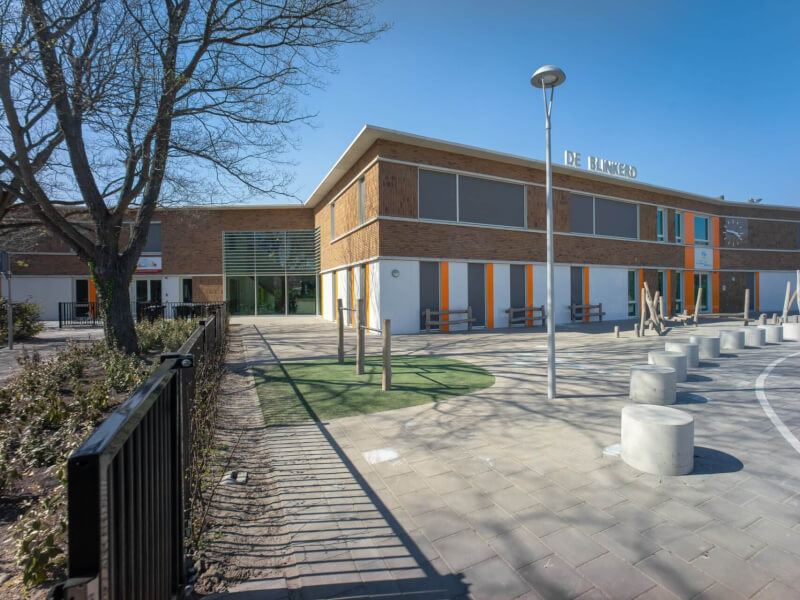 A De Blinkerd Monster school schoolgebouw Wubben.Chan Architecten